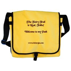 Fairy Trail is Real Messenger bag